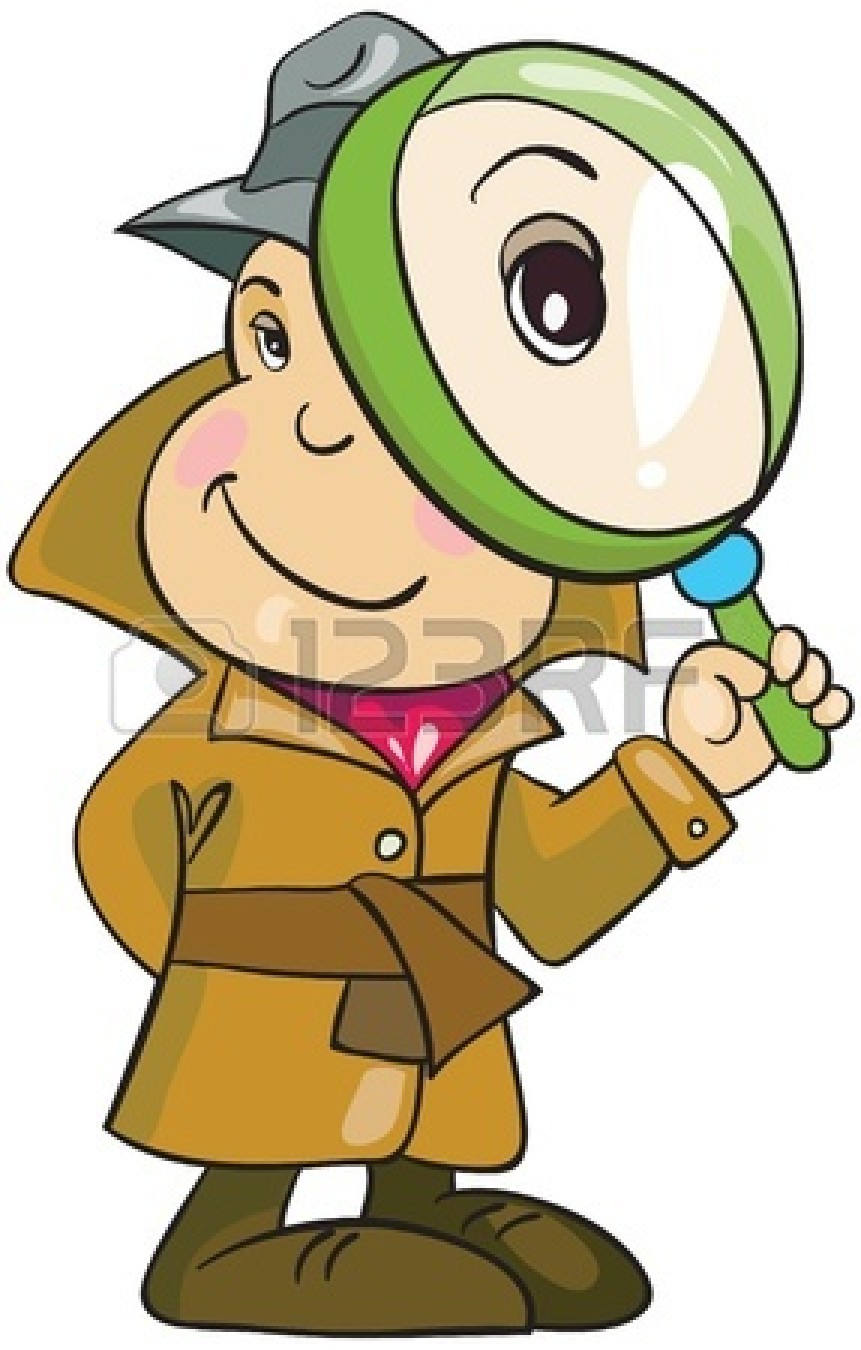 Detective Clipart For Kids.