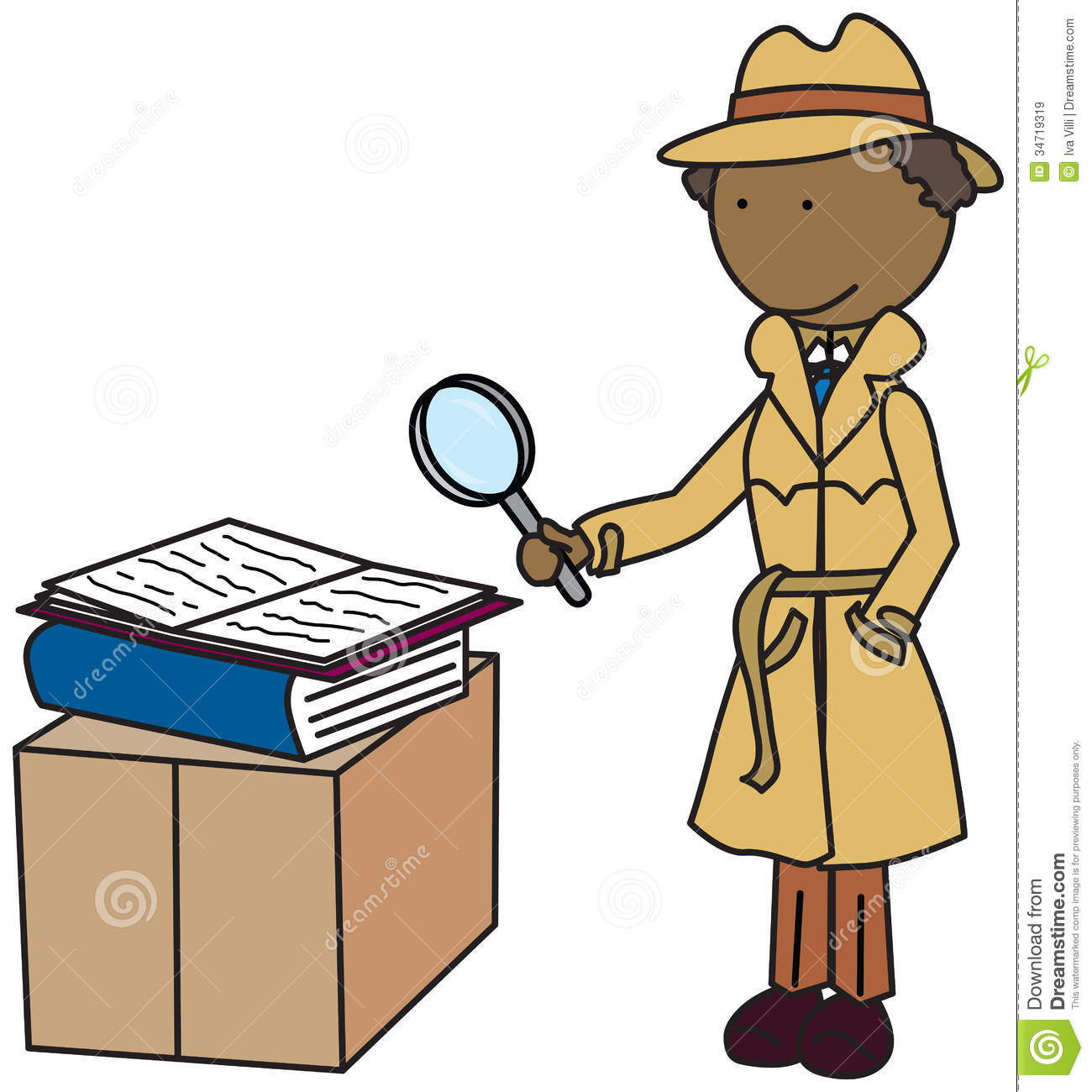 Detective Clipart Free.