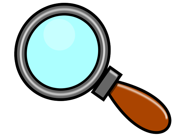 Detective clipart magnifying glass clipart 4.
