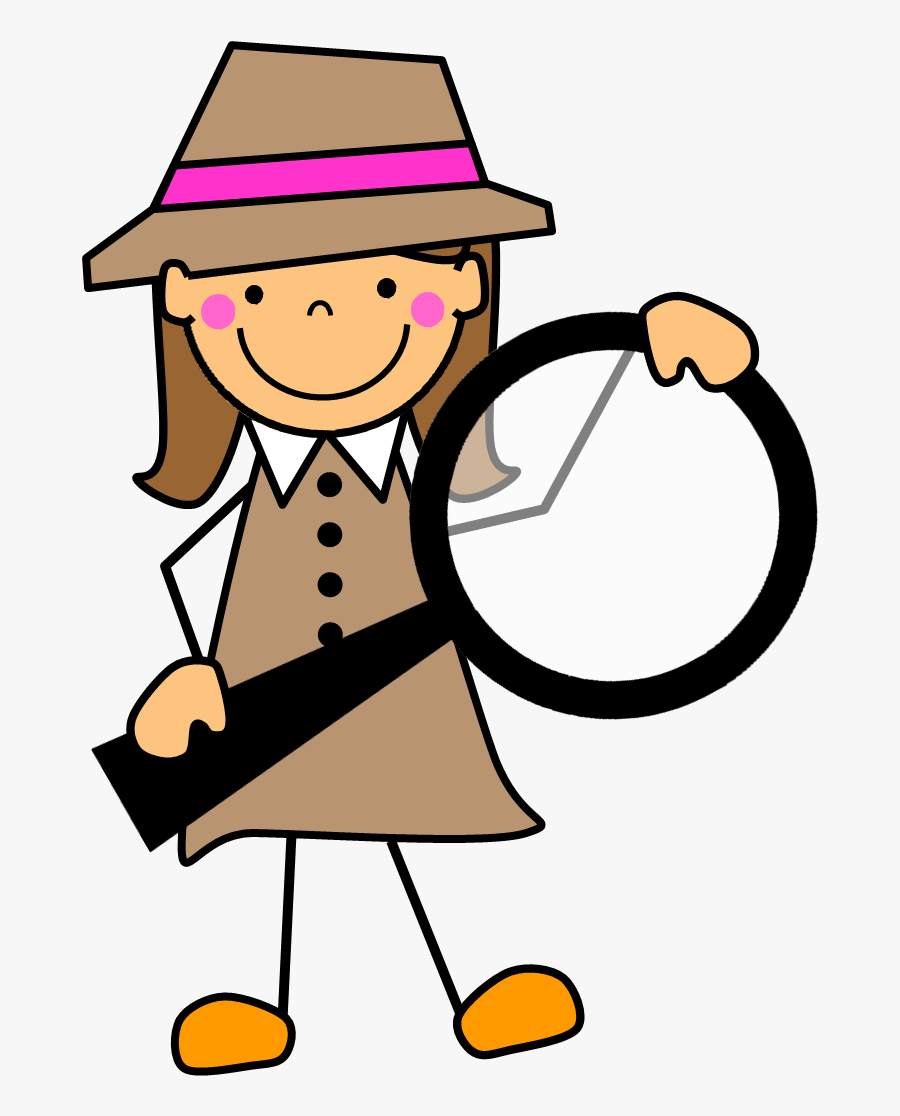 Word Detective Clipart , Free Transparent Clipart.