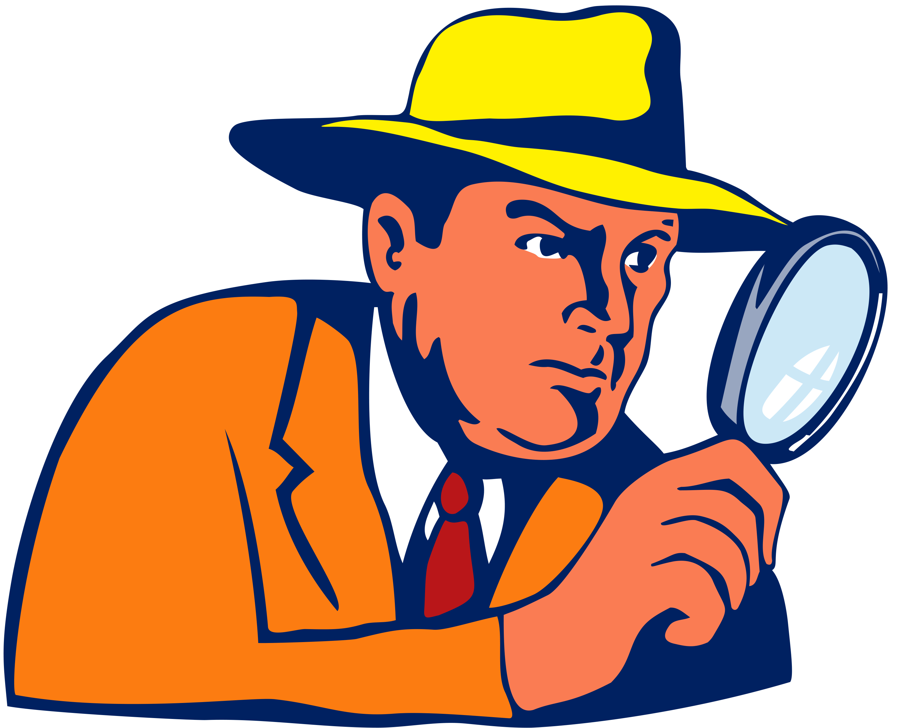 Pics Photos Detective With Magnifying Glass Clipart.