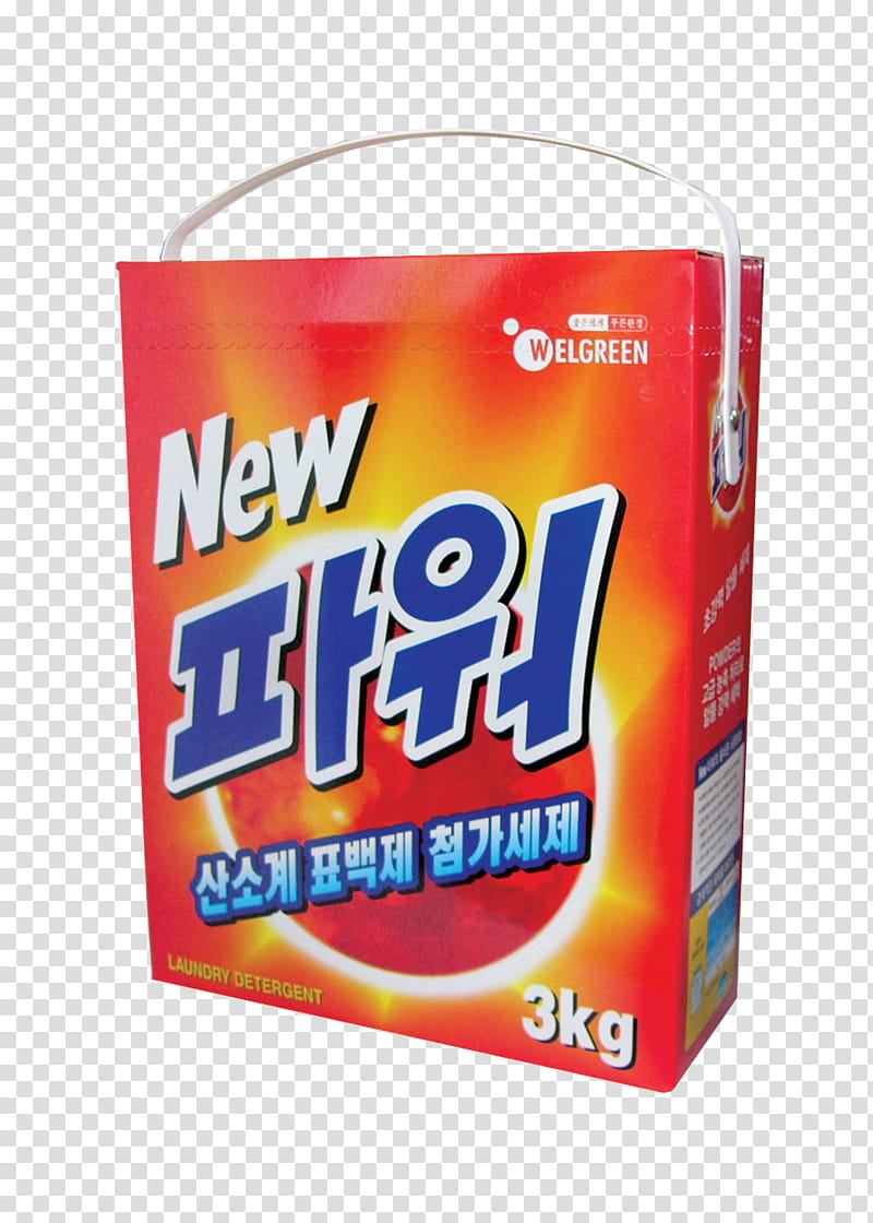 Laundry detergent x, kg Welgreen box transparent background.