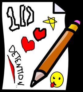 Detention Clip Art at Clker.com.