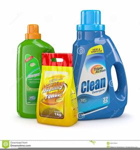 Laundry Detergent Clipart.