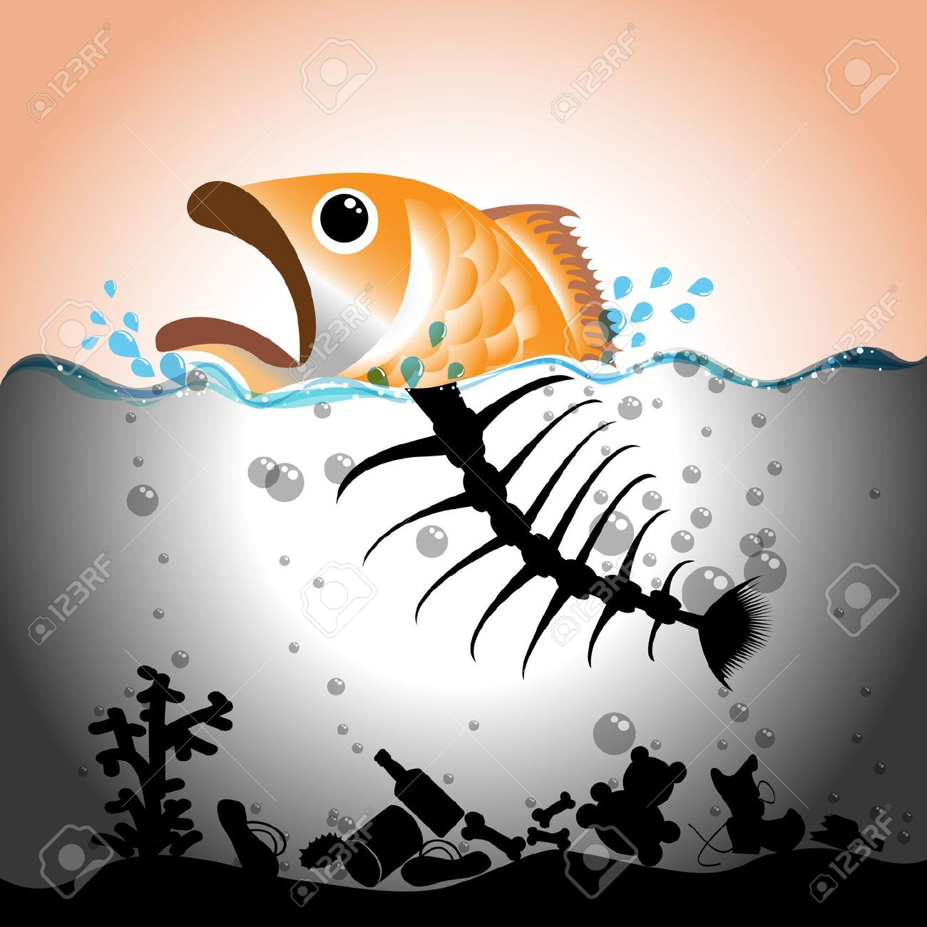 Free water quality testing clipart.