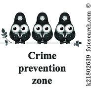 Deterrence Clipart Illustrations. 6 deterrence clip art vector EPS.