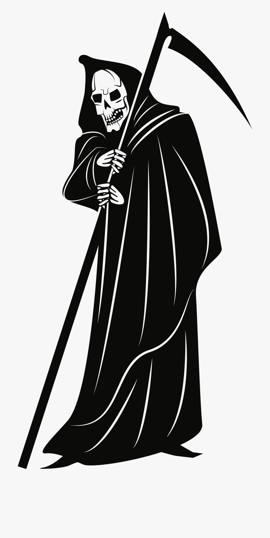 Grim Reaper Scythe Png.