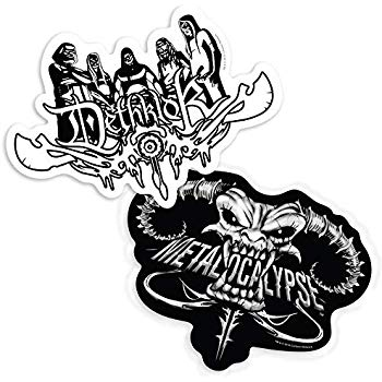 Amazon.com: Popfunk Metalocalypse and Dethklok Logo.