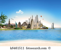 Travel destinations Stock Illustrations. 27,427 travel.