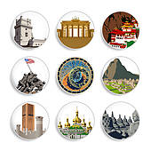 Travel Destination Clip Art.