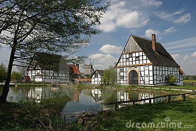 The Princely Castle Of Detmold Stock Photos.