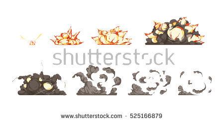 Detonation Stock Images, Royalty.
