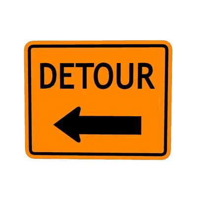 Detour 20clipart.