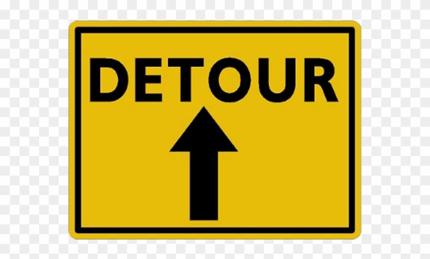 Detour Clipart (#2274599).