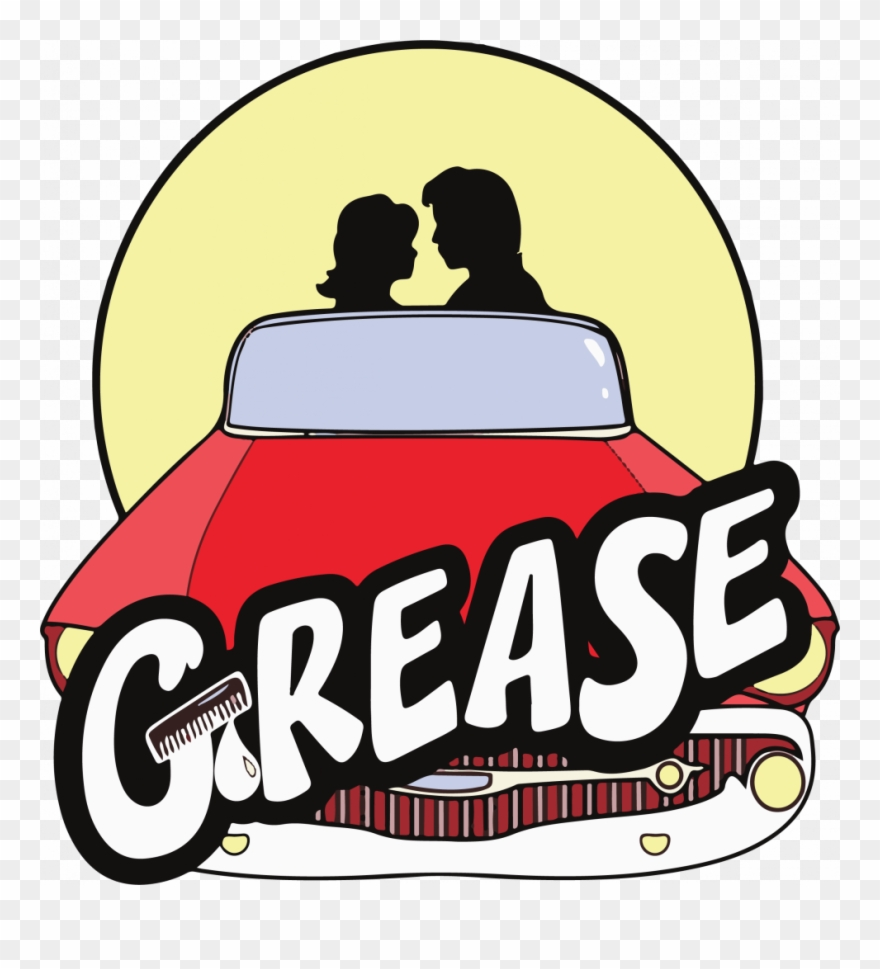 Grease Clipart (#4596882).