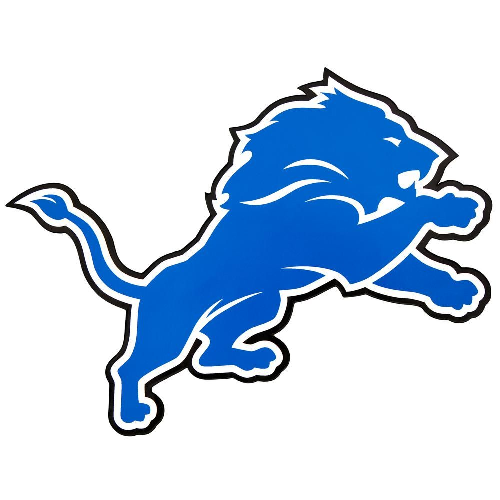 Applied Icon NFL Detroit Lions Outdoor Logo Graphic.