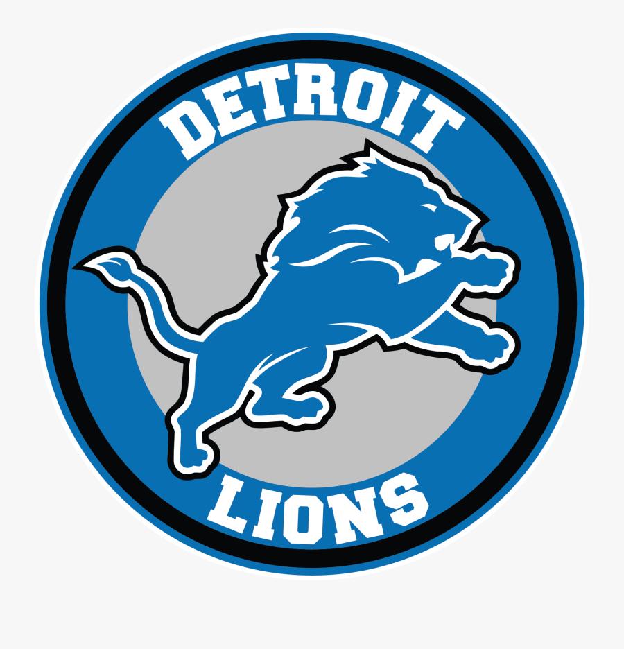 Transparent Detroit Lions Logo Png.