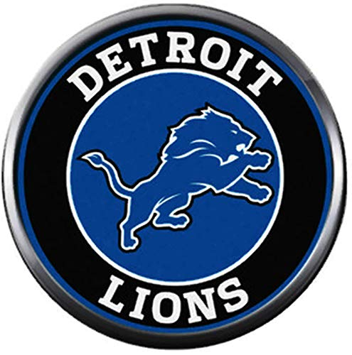 Amazon.com: NFL Detroit Lions Circle Logo Lion Football Game.