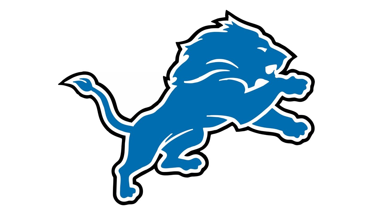 How to Draw the Detroit Lions Logo (NFL).
