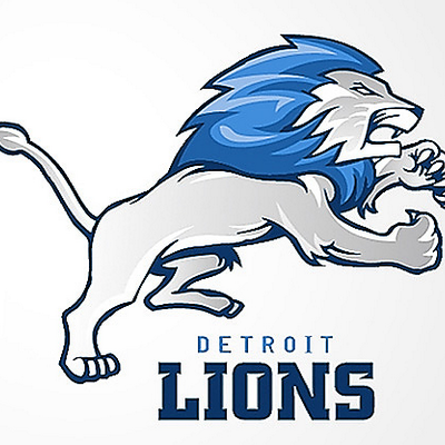 1327 Lions free clipart.