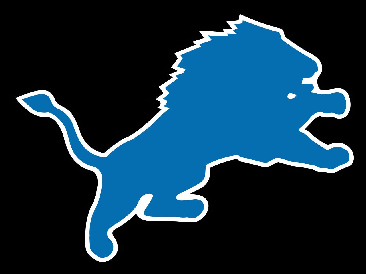 Detroit lions old Logos.