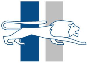Detroit Lions old logo.