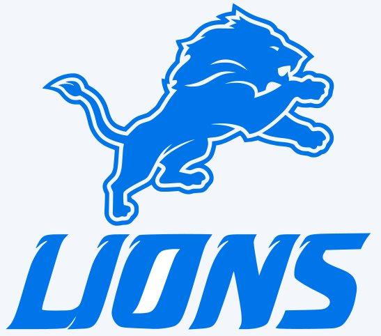 Detroit Lions Logo Decal Car Window Sticker.