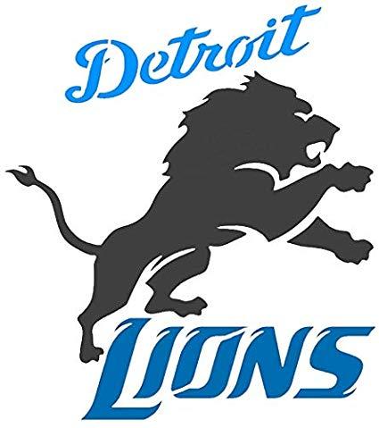 Amazon.com: Various SZS Detroit Lions Logo Stencil Reusable.