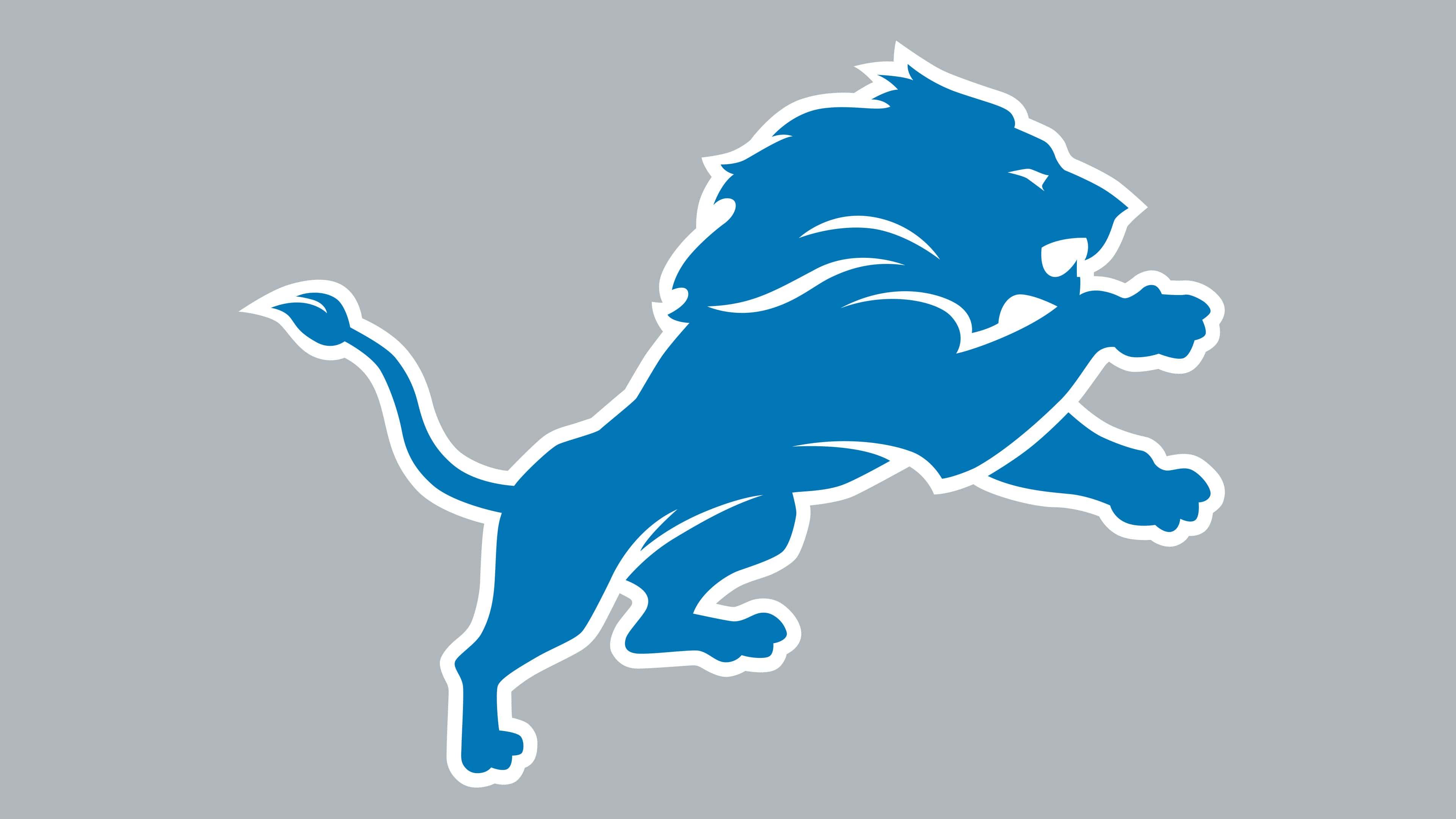 Detroit Lions Logos.