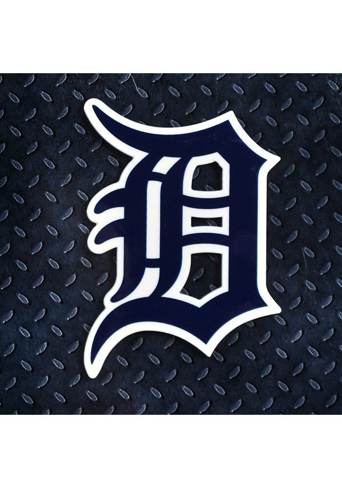 Detroit Tigers Steel Logo Magnet.
