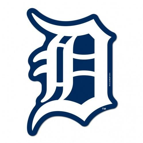 MLB Detroit Tigers Logo on the Gogo Grille Decal.