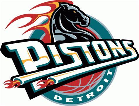 Detroit pistons horse Logos.
