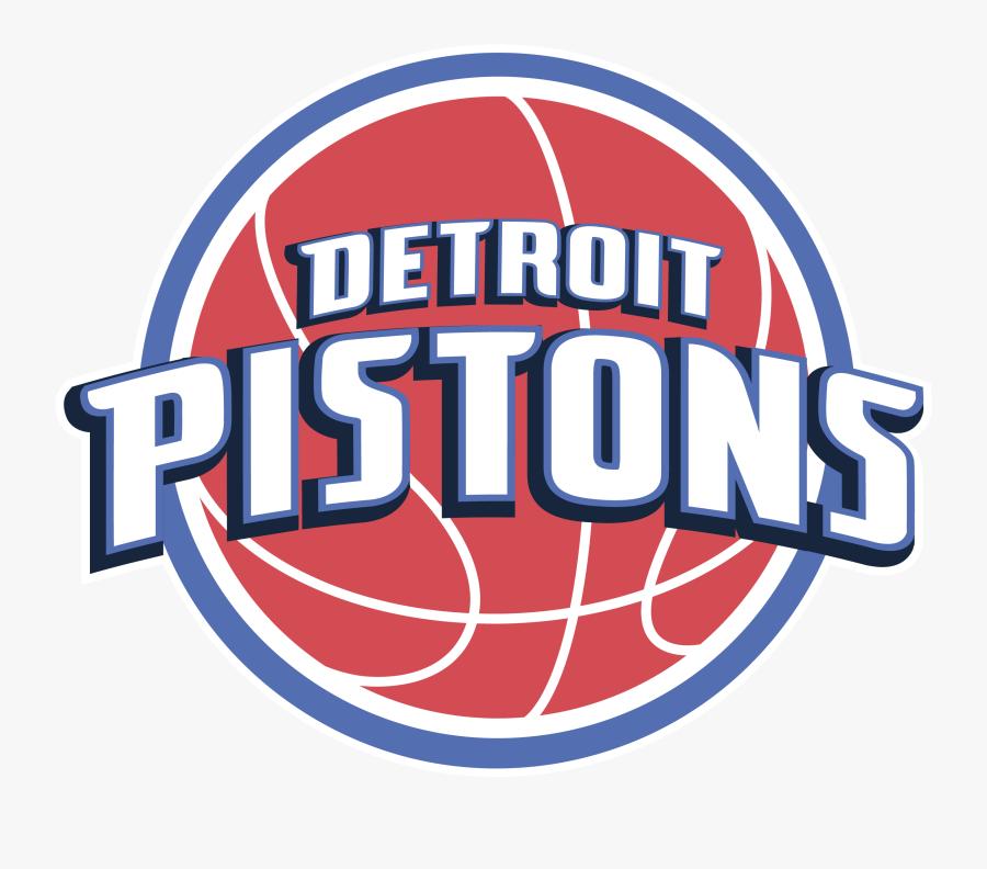 Vector Detroit Pistons Logo , Free Transparent Clipart.