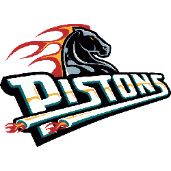 Detroit Pistons Wordmark Logo.