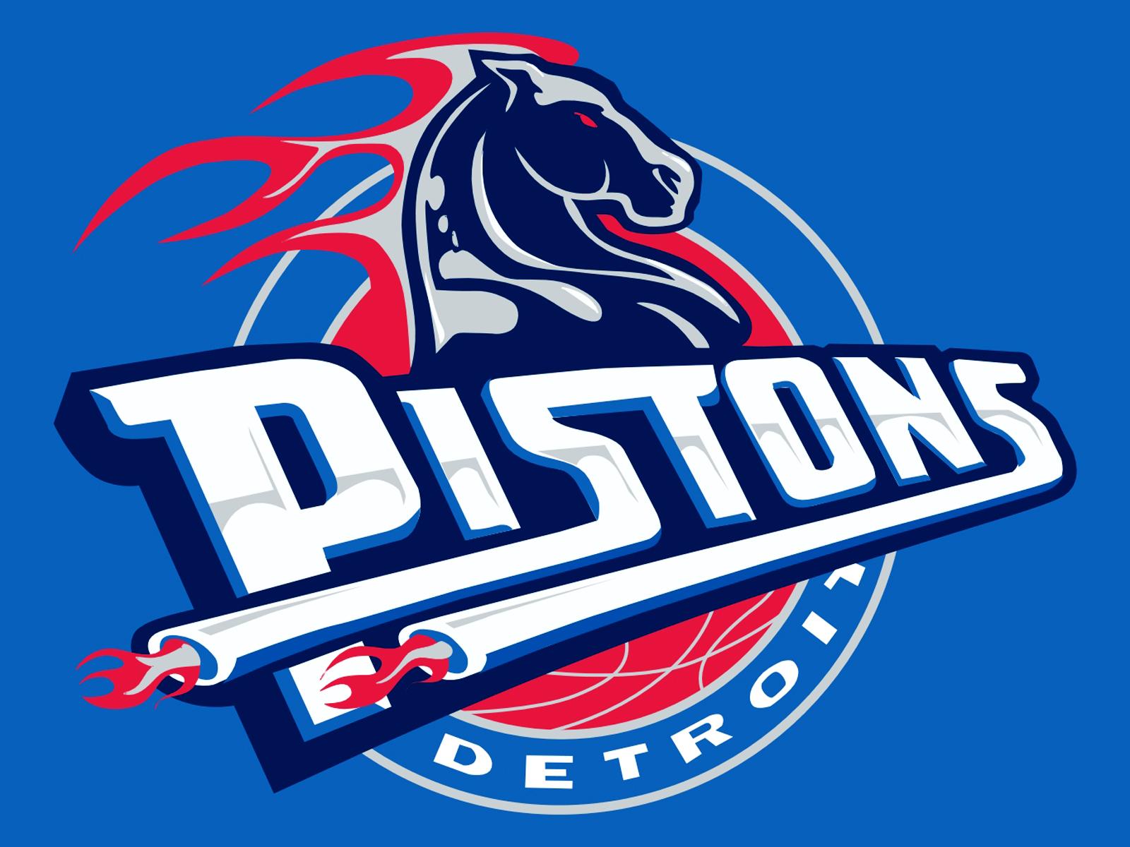 Detroit Pistons Logo Backgrounds.