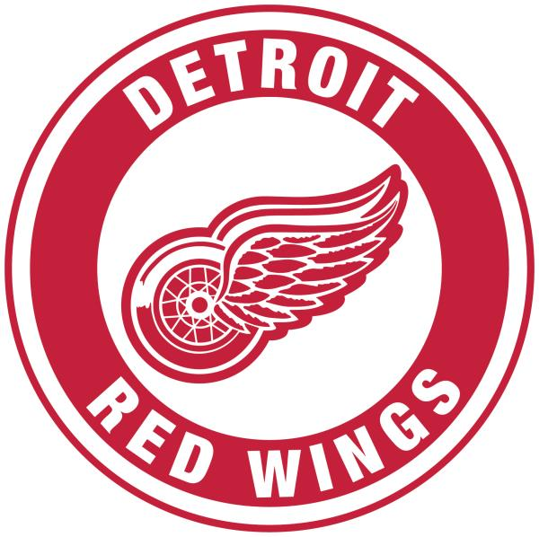 Details about Detroit Red Wings Circle Logo Vinyl Decal / Sticker 5 Sizes!!!.