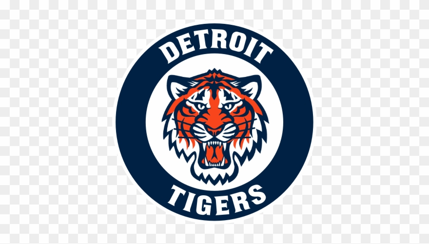 Detroit Tigers Circle Logo Clipart (#3521019).