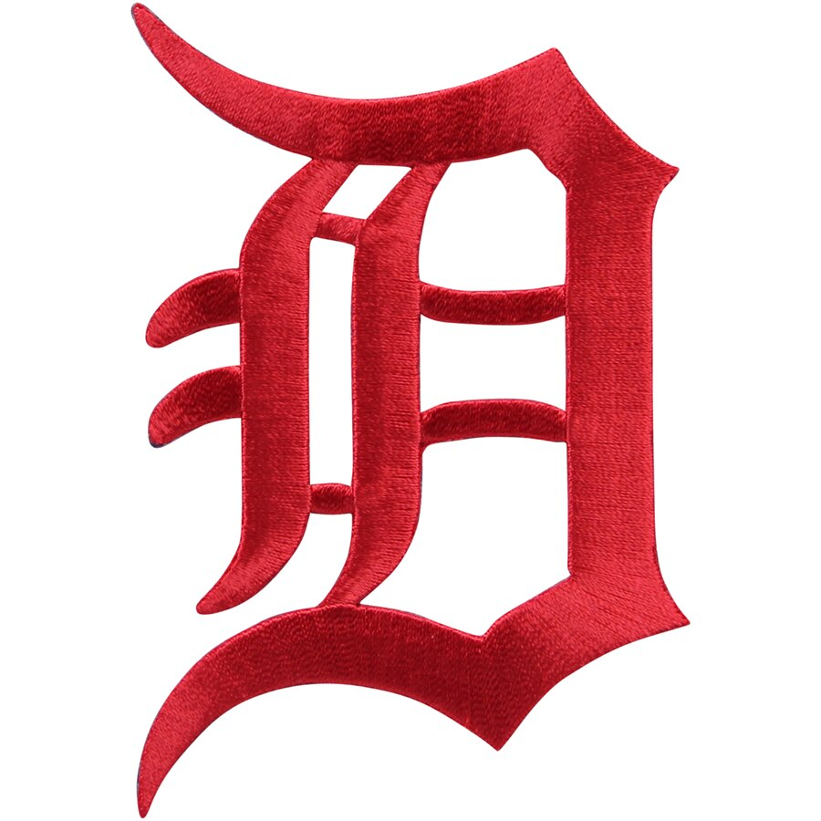 Detroit Tigers Stars & Stripes Logo Patch.