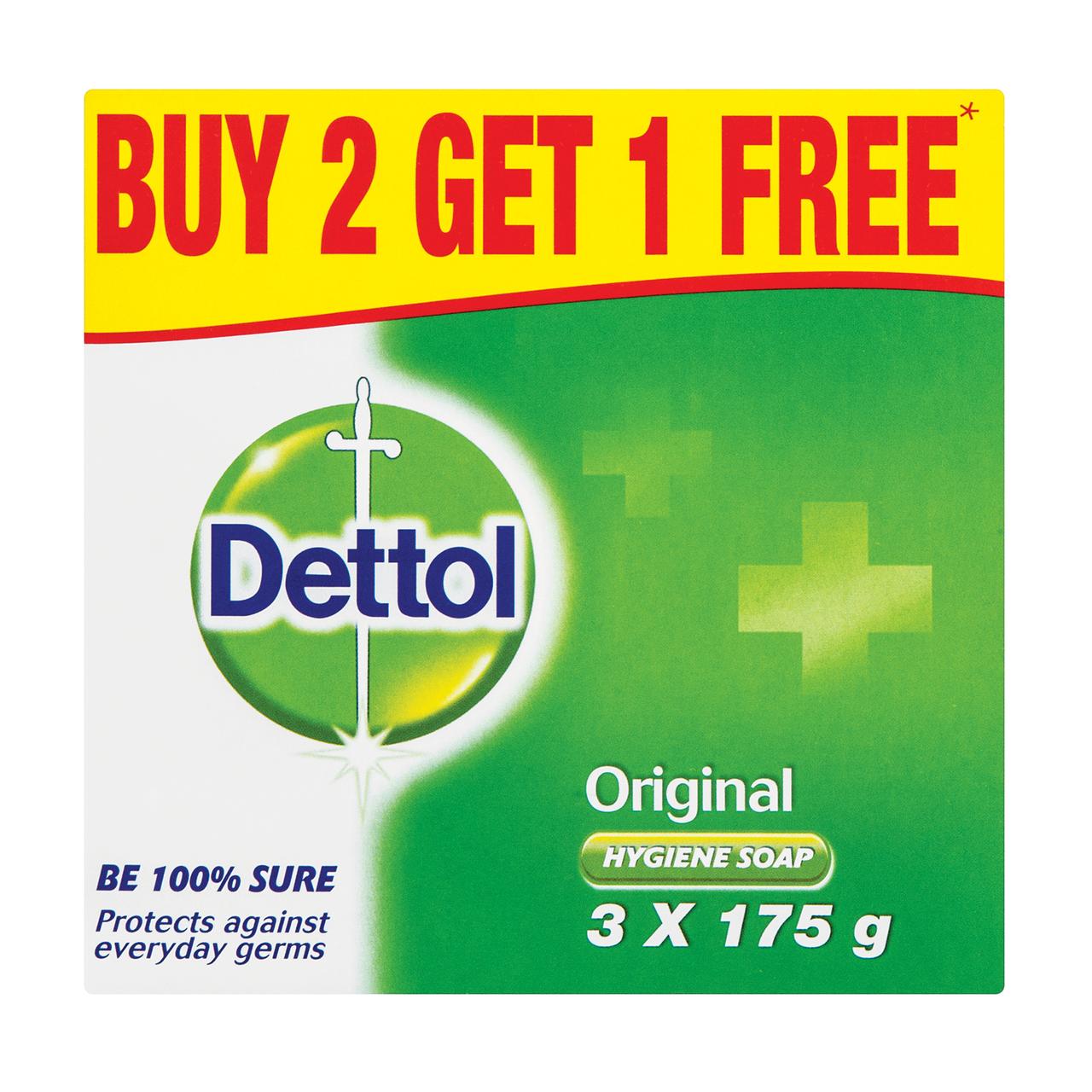 Dettol Hygiene Soap Original.