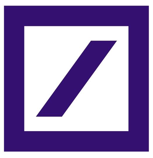 Deutsche Bank Logo [EPS.