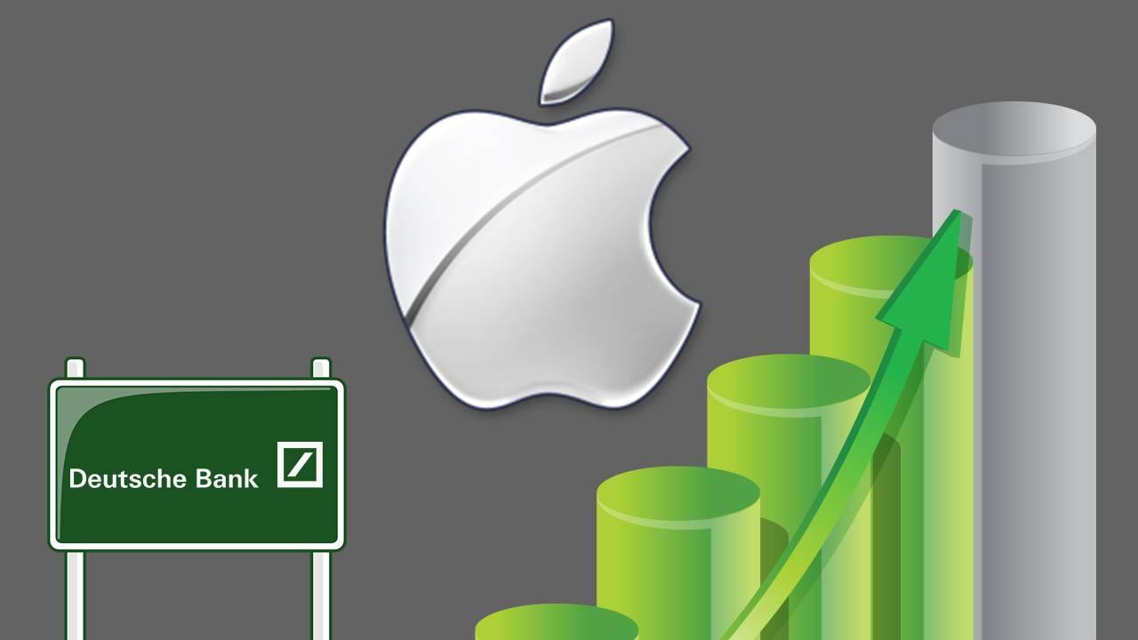 Apple, Inc. (NASDAQ:AAPL) Stock Jumps As Deutsche Bank AG (USA.