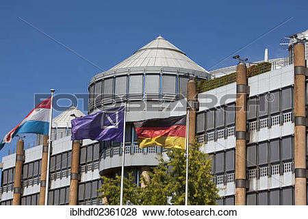 "Pictures of ""Deutsche Bank building by architect Gottfried Boehm."