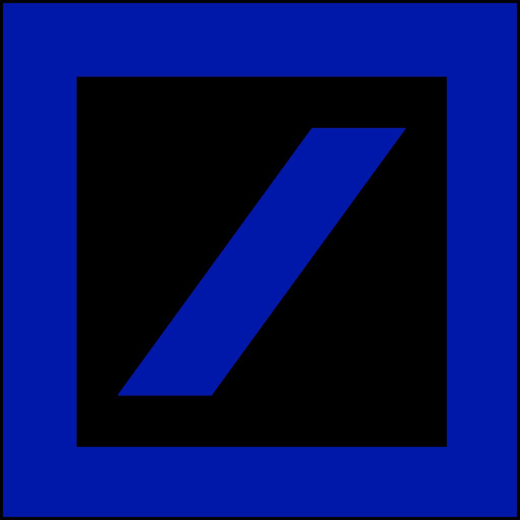 File:Deutsche Bank logo without wordmark.svg.