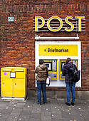 """Stock Photography of """"Post Tower, headquarters of Deutsche Post AG."""