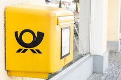 Deutsche Post Mailbox Editorial Image.