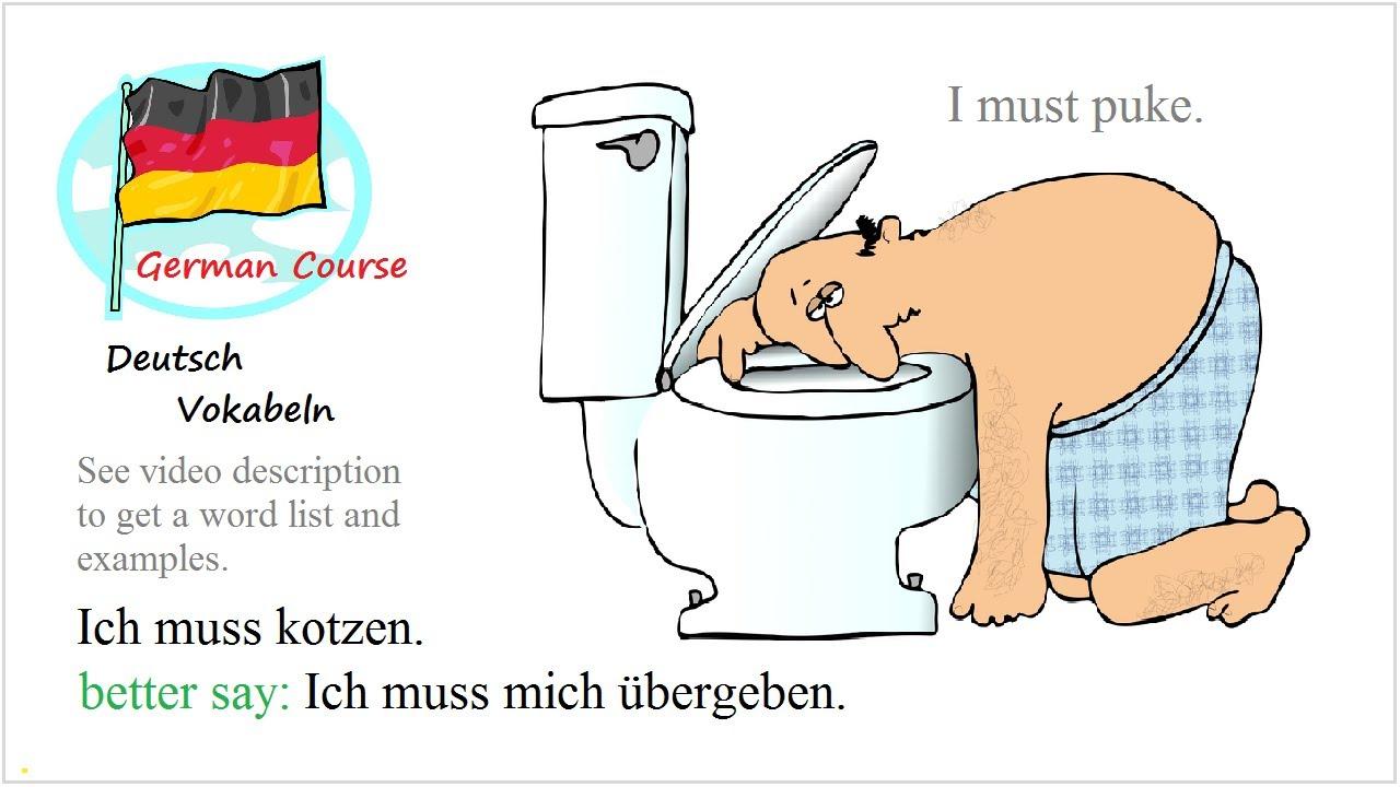 German Vocabulary Course [18] Krankheit.