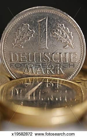 Stock Photo of German Deutsche mark x19582872.