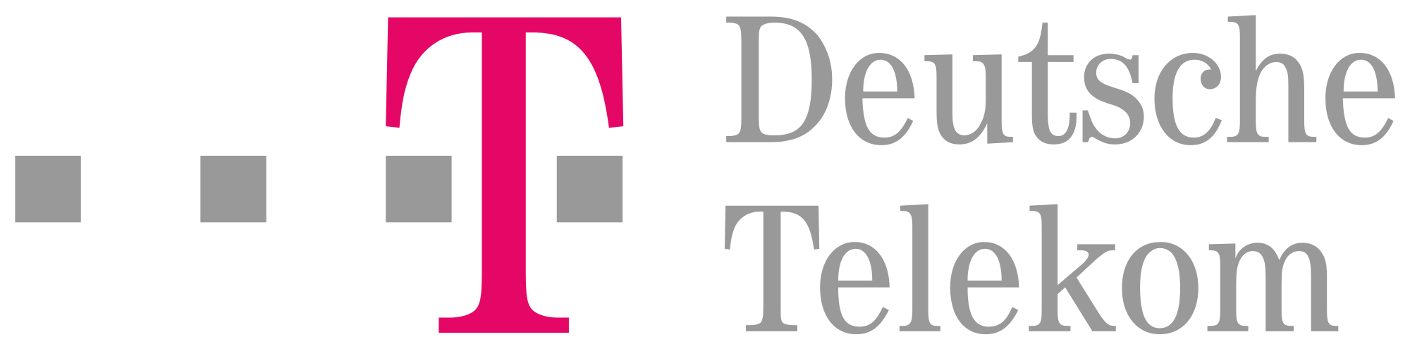 Deutsche telekom Logos.