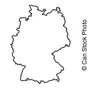Clipart deutschlandkarte.