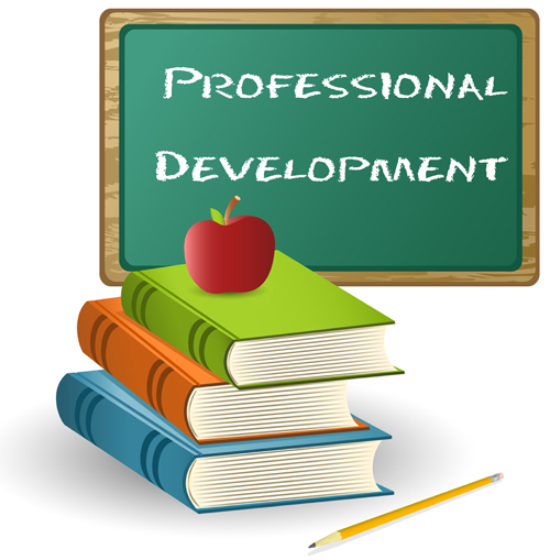 Professional Development Day Clipart.
